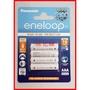 ~棉花糖~ 日本製 eneloop愛樂普國際牌低自放電可循環充電2100次4號鎳氫充電電池4顆裝750mAh C0021
