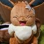 絕版 正版 伊布一番賞 B賞  精靈寶可夢 神奇寶貝 伊布 寶可夢 一番賞 大娃娃 精靈寶可夢 伊布家族 皮卡丘 六尾
