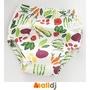 Malldj親子購物網 - 日本 A love  6層一體學習褲-蔬菜【110cm】 #PBF0408020000802