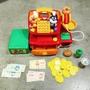 日本 麵包超人扮家家酒收銀機櫃台遊戲組有聲發聲說話錢幣超市玩具正版日版學習數字玩具細菌人