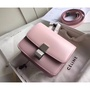 CELINE 抛光小牛皮 粉紅 Classic Box Small Bag