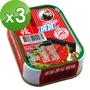 【老船長】紅燒鰻-易(100g*3)