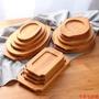 【零落小商铺】Kens松木日式餐盤木制餐盤餐墊 鐵板燒實木墊牛排餐盤木質隔熱墊