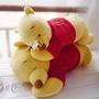 ☆迪士尼Disney 睡姿小熊維尼與蜜蜂 趴趴抱枕/午睡枕(單隻)大號下標區(現貨)