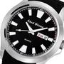 【滾石鐘錶】Glad Stone葛萊斯頓 台灣製造生產 SEIKO精工VX43石英機芯 精品不鏽鋼 特殊矽膠錶帶 44mm型男運動腕錶 型號:GS1220M-1