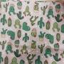 最新流行口罩套  純棉材質  仙人掌圖案