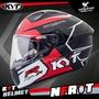 KYT安全帽 NF-R #T 紅 黑紅 亮面 內墨片 雙D扣 內鏡 全罩式 全罩帽 NFR T 耀瑪騎士機車部品