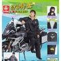 【三和牌】閃電騎士輕量風雨衣  雨衣 休閒風雨衣  衣褲兩件式  黑色下標處