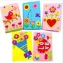 [現貨]兒童DIY手作卡片材料包 美術 母親節卡片 父親節 教師節【JC3467】《Jami Honey》