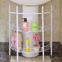 【H&R安室家】洗手台收納架水槽下收納架