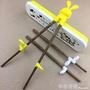 訓練筷吃飯學習筷實木左右手練習筷小孩筷子輔助預防器