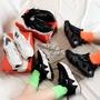 @孫芸芸 Nike RYZ 365 nike365 白 黑 黑白 增高 厚底 鏤空 緞面 麂皮 男