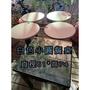 青埔二手家具-白色小圓餐桌4張、營業用餐桌、餐桌 商用廢棄物處理、北台灣回收家具買賣