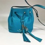 Kate Spade Tiny Cooper Bucket Bag Grey Steet Blue Crossbody