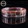 【富藏居】天然紫鈦晶極光現象通透晶體完美手排(56G)