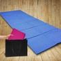 【瑕疵福利品】6mm PVC 雙面止滑可折疊瑜珈墊/瑜伽墊-加碼送可背式背袋
