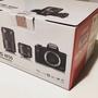二手Canon EOS M50 雙鏡組 黑色 公司貨 空盒
