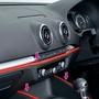 日本精品 SEIWA 車內外條裝飾護條 K368 裝飾條 保護條 防撞片 紅色 黏貼式