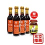 【民生壺底油精】素顏黑豆醬油4入+辣味黑豆瓣醬1入-電電購
