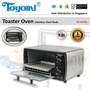 TOYOMI Toaster Oven with Stainless Steel Body 9.0L [Model: TO977SS] - Official TOYOMI Warranty Set.