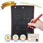 8.5吋液晶電子紙手寫板(紅) 塗鴉板 電子畫板 學習畫畫