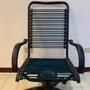 搬家出清 滑輪 可升降 後傾斜 事務椅 健康椅 電腦椅 辦公椅 透氣 休閒 彈力繩