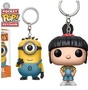 🚚 STORE SPECIALS! Minion Carl & Agnes FUNKO POP keychain