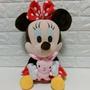 迪士尼 米妮 抱兔子 米老鼠 12吋玩偶娃娃