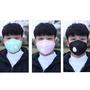 【現貨下殺】立體折疊口罩 口罩防霧霾PM2.5立體折疊灰色活性炭  一次性呼吸閥便攜折疊口罩
