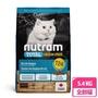 【Nutram 紐頓】T24無穀貓-鮭魚配方6.8KG