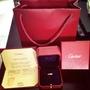 Cartier 卡地亞 LOVE系列戒指 18K 玫瑰金 專櫃正品 配件齊全