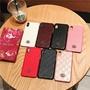 潮牌 古馳 Gucci 壓花手機殼 蘋果 IPhone X 8 8Plus 7 6s 6Plus XR XsMax保護套