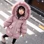 🎀現貨  2019冬季新款 韓版中長款兒童羽絨外套 寶寶棉衣外套