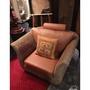 🔅二手🔅泰國褐色沙發藤椅(含運)