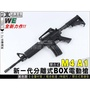 【免運+折扣碼】WE M4A1全金屬開合式單/連發電動槍(AEG)-WEA003