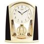 日本麗聲鐘-施華洛世奇水晶擺錘/居家精緻擺飾/超靜音座鐘/4RP772
