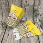 促銷價 《貝貝店》包郵一次性爆米花盒 爆米花紙盒 爆米花杯打包盒 爆米花紙筒