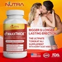 Nutra Botanics™ MaxxThick™ (60 Capsules) - 100% Natural Male Enhancement - Fast & Intense Results - Natural Testosterone Booster - Tongkat Ali, Maca, Horny Goat Weed