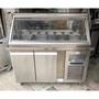 《祥順餐飲設備》 四尺沙拉吧冰箱/配料台冰箱/冷藏沙拉吧冰箱/刨冰展示冰箱/冰品冷藏冰箱