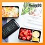 黑便當盒時尚設計PP創意塑膠便當盒日式字母設計可微波餐盒午餐盒保鮮盒-多款【AAA3782】