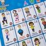 認識早教機發音識字卡兒童有聲掛圖幼漢字掛墻的嬰幼兒充電認字讀