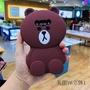 美圖M8 電話殼 T8 手機殼  V6 保護套 軟殼 矽膠 立體  雄大 可愛 卡通 掛繩 熊大