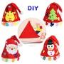 現貨)4款DIY聖誕帽 手工製作聖誕禮物 聖誕帽