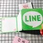 LINE折疊卡片 手工卡片 生日卡片 情人節 IG卡片 創意卡片 禮物盒卡片