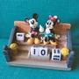 現貨 日本 迪士尼 可愛 米奇 米妮 萬年曆 年曆 月曆 送禮 禮物 情人節