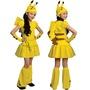 HappyHour: *萬聖節  * 美國空運 女童俏皮寶可夢(皮卡丘) 兒童 造型服 變裝派對服裝