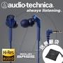 【公司貨】送原廠袋 鐵三角 CKS550X ATH-CKS550X 耳道式耳機 超重低音 (CKS550新款) 藍