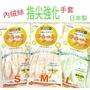 日本製SHOWA珍珠光指尖強化薄型清潔用手套SML4901792015851/4901792015868【野櫻花】