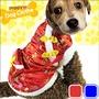 紅包口袋唐裝寵物裝過年寵物衣服新年寵物服裝寵物服飾店拜年毛小孩小狗衣服小貓中國風衣服秋冬用品E118-A62