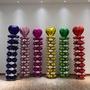 開幕鋁箔拱門[氣球柱]小四輪愛心圓形幸運草氣球